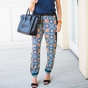 Like New Clover Canyon Print Pants Size M